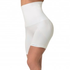 SANKOM FUNCTIONAL PATENT BODY SHAPER SHORTS – PEARL  POSTURE-CORRECTION, WHITE COLOR