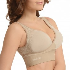SANKOM PATENT CLASSIC BRA FOR BACK SUPPORT, PEACH COLOR